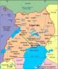 Uganda map Hoima