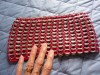 hand bag from pop tabs