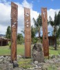 memorial to those affected by nuclear testing 1976-1993 in this area