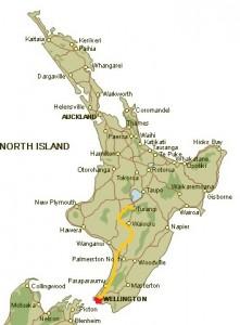 Turangi to Wellington