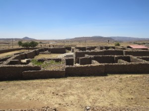 Queen of Sheba palace ruins