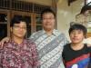 Panya's new host family