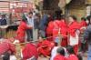 worshipers at small temple